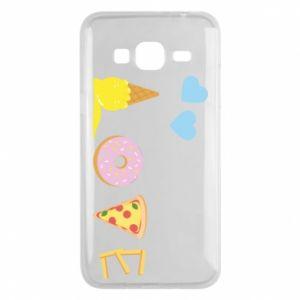 Etui na Samsung J3 2016 Love any food