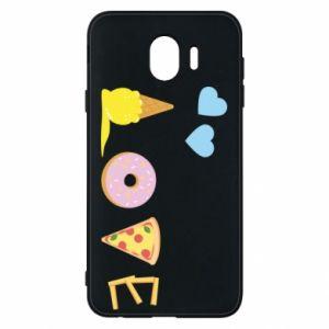 Etui na Samsung J4 Love any food