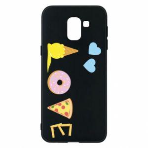 Etui na Samsung J6 Love any food