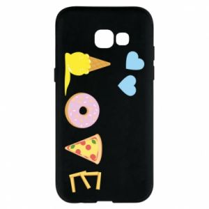 Etui na Samsung A5 2017 Love any food