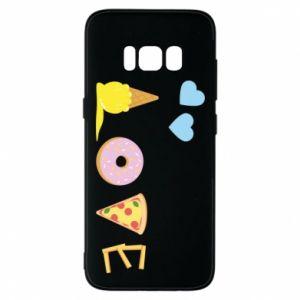 Etui na Samsung S8 Love any food