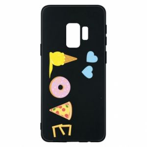 Etui na Samsung S9 Love any food