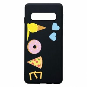 Phone case for Samsung S10 Love any food