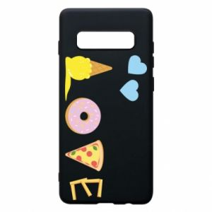 Etui na Samsung S10+ Love any food