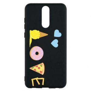 Etui na Huawei Mate 10 Lite Love any food