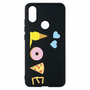 Etui na Xiaomi Mi A2 Love any food