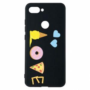 Etui na Xiaomi Mi8 Lite Love any food