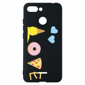 Etui na Xiaomi Redmi 6 Love any food