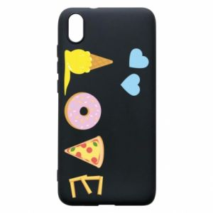 Etui na Xiaomi Redmi 7A Love any food
