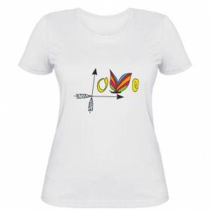 Women's t-shirt Love Butterfly