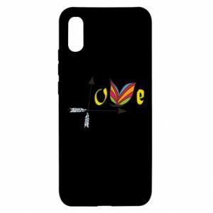 Xiaomi Redmi 9a Case Love Butterfly