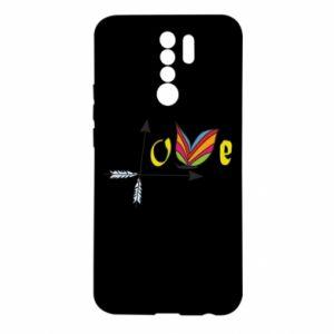 Xiaomi Redmi 9 Case Love Butterfly