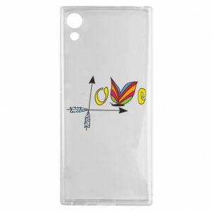 Sony Xperia XA1 Case Love Butterfly