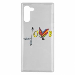 Samsung Note 10 Case Love Butterfly
