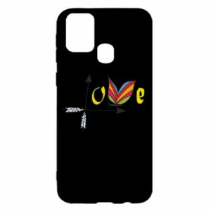 Samsung M31 Case Love Butterfly