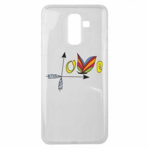 Etui na Samsung J8 2018 Love Butterfly