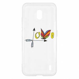 Nokia 2.2 Case Love Butterfly
