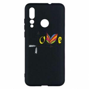 Huawei Nova 4 Case Love Butterfly