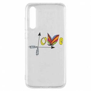Huawei P20 Pro Case Love Butterfly