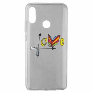 Huawei Honor 10 Lite Case Love Butterfly