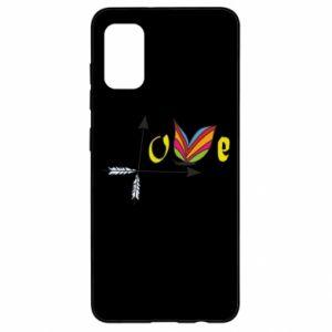 Samsung A41 Case Love Butterfly