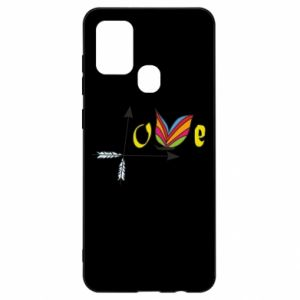 Samsung A21s Case Love Butterfly