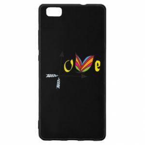 Huawei P8 Lite Case Love Butterfly