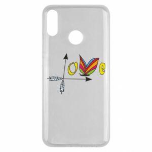 Huawei Y9 2019 Case Love Butterfly
