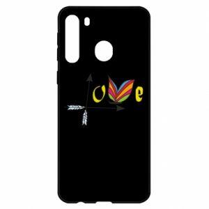 Etui na Samsung A21 Love Butterfly