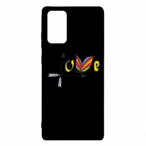 Etui na Samsung Note 20 Love Butterfly