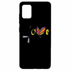 Etui na Samsung A51 Love Butterfly