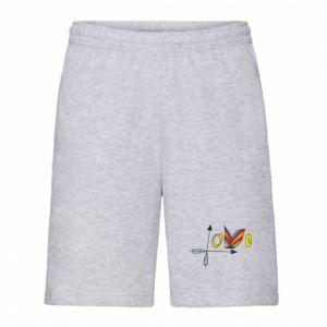 Men's shorts Love Butterfly