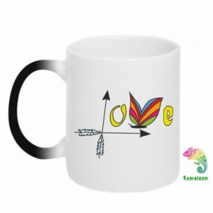 Chameleon mugs Love Butterfly