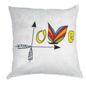 Pillow Love Butterfly