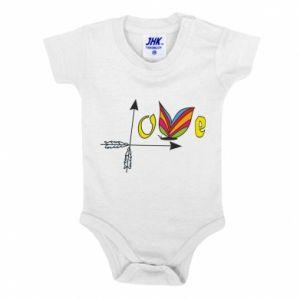 Baby bodysuit Love Butterfly