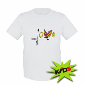 Kids T-shirt Love Butterfly