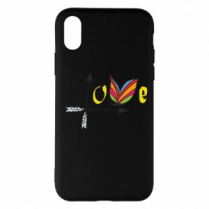 Etui na iPhone X/Xs Love Butterfly