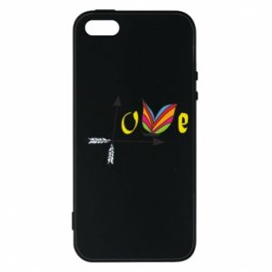Etui na iPhone 5/5S/SE Love Butterfly