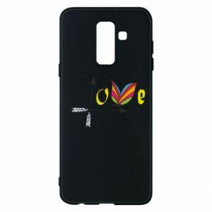 Samsung A6+ 2018 Case Love Butterfly