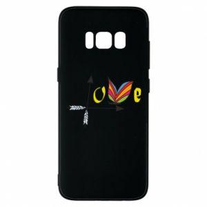 Samsung S8 Case Love Butterfly