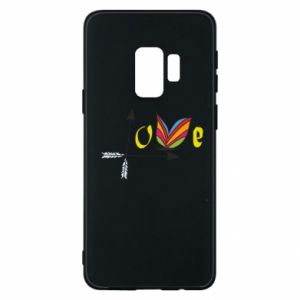 Samsung S9 Case Love Butterfly