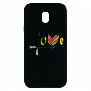 Samsung J3 2017 Case Love Butterfly