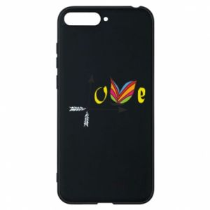 Huawei Y6 2018 Case Love Butterfly