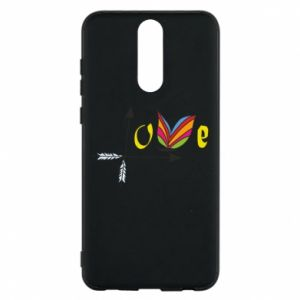 Huawei Mate 10 Lite Case Love Butterfly