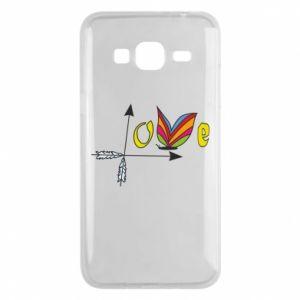 Samsung J3 2016 Case Love Butterfly