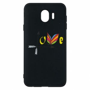 Samsung J4 Case Love Butterfly