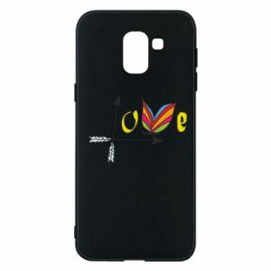 Samsung J6 Case Love Butterfly
