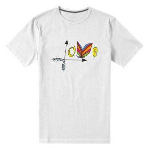 Men's premium t-shirt Love Butterfly