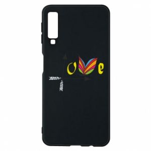 Samsung A7 2018 Case Love Butterfly