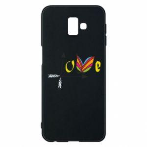 Samsung J6 Plus 2018 Case Love Butterfly